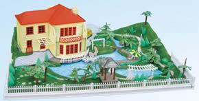 """""""绿野春天""""花园别墅模型""""绿野春天""""花园别墅模型"""