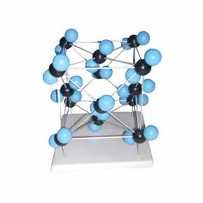 三氧化碳晶体结构模型三氧化碳晶体结构模型