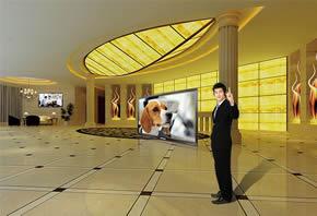 商用液晶电视显示器商用液晶电视显示器 室内场景